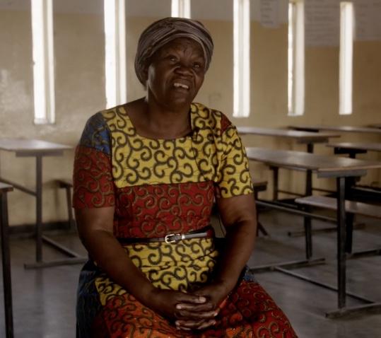 Kvinna från Zambia
